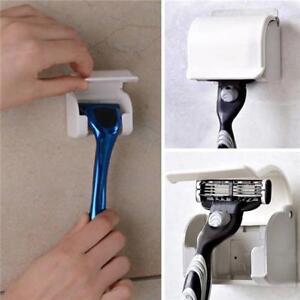 Strong-Self-pasting-Razor-Rack-Holder-Shaver-Hanger-Sucker-bathroom-accessory-8C