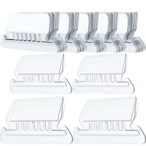 Suspension File Inserts & Clear Plastic Tabs Filing Index -For Hanging Files