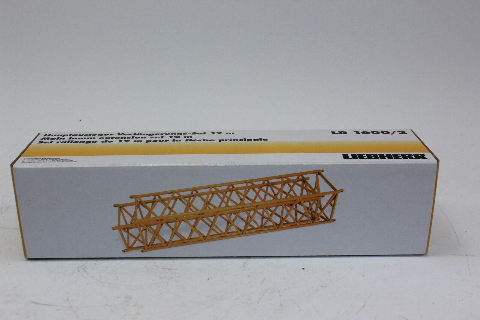 online al mejor precio Nzg 843 30 Liebherr Liebherr Liebherr LR 1600 2x 12m Mástil de Celosía Extensión 1 50 Nuevo con  oferta especial