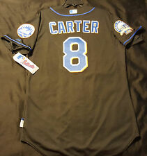 Majestic AUTHENTIC 46 XL, NEW YORK METS, GARY CARTER COOL BASE SHEA PATCH Jersey