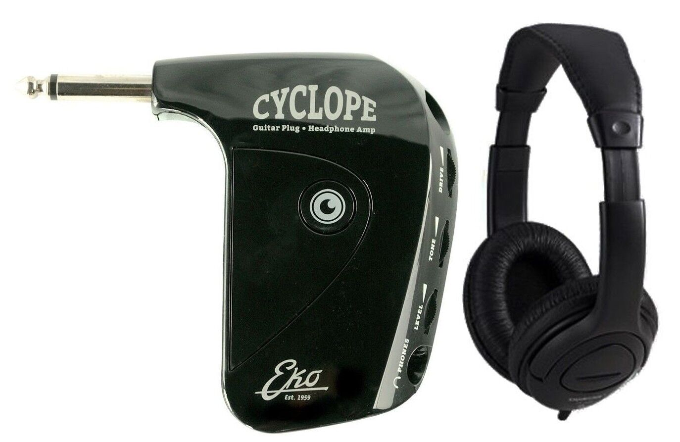 spedizione veloce in tutto il mondo EKO Cyclope - Mini Amplificatore Amplificatore Amplificatore per Cuffie con Cuffie  lo stile classico