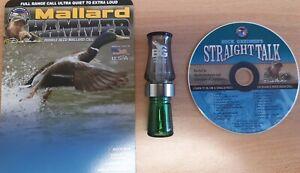Duck-Call-Buck-Gardner-Mallard-Hammer-Call-with-Instructional-CD