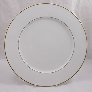 Villeroy-amp-and-Boch-CHARLESTON-GOLD-buffet-large-dinner-plate-31cm-UNUSED