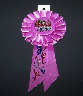 Free Delivery 6 x Personalised Baby Shower Party Medals with Pink Ribbon