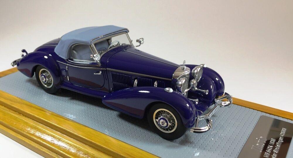 ILARIO 102 - Mercedes Benz 540K 1939 Spezial Roadster Sindelfingen Restored 1 43