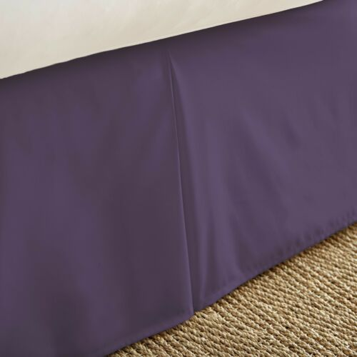 Ultra Plush Premium Pleated Bed Skirt Dust Ruffle by The Home Collection