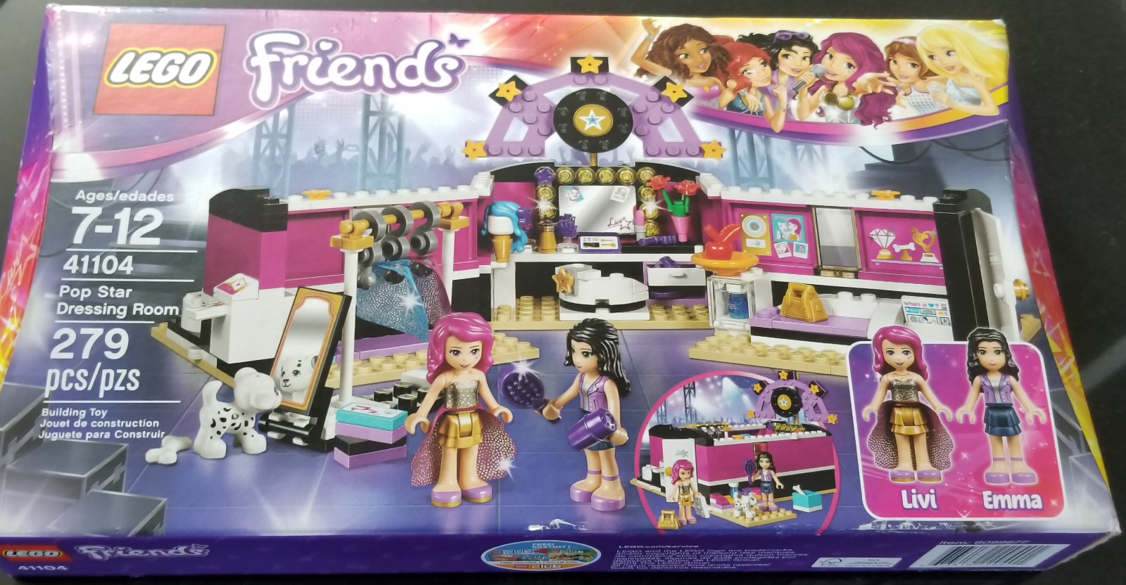 Room Star Authentic 41104 Pop Friends 279 Pc Dressing Lego 8vm0OyNnw