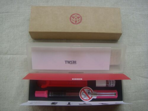 〝SEALED〞2018 NEW SPECIAL EDITION TWSBI ECO Pink Clear Piston Fountain Pen