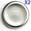thumbnail 1 - 2X FRONT WHEEL CENTRE TRIM HUB CAP FOR FORD TRANSIT MK6 MK7 MK8 TWIN REAR WHEEL