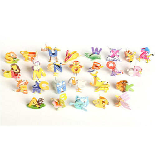 Creative Baby Toys 26pcs Letters Kids Alphabet Child Educational Toys MA