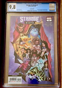 STRANGE-ACADEMY-1-CGC-9-8-2ND-PRINTING-HERRERA-COVER-2020-MARVEL-NM