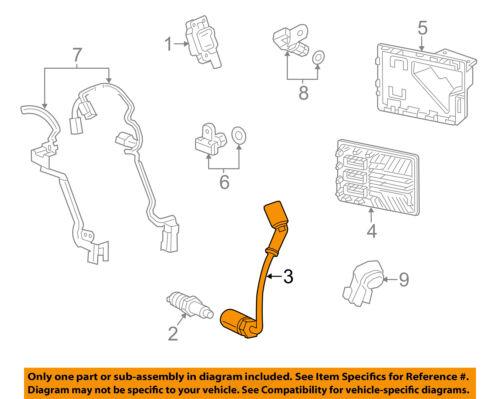 GM OEM-Ignition Spark Plug Wire Set 12633447