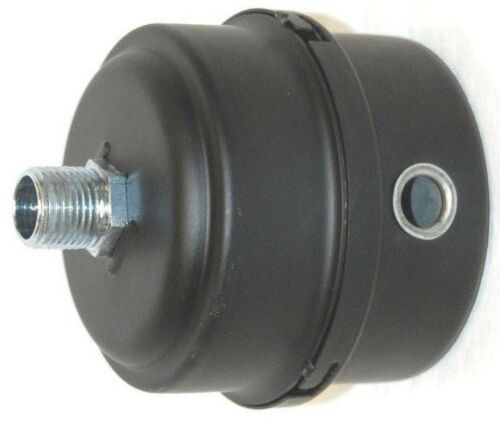 Silencer Metal Housing Made In USA 1//2/'/' MNPT Air Compressor Intake Filter