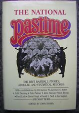 The National Pastime - 1988 Hardcover Book with Dust Jacket by John Thorn