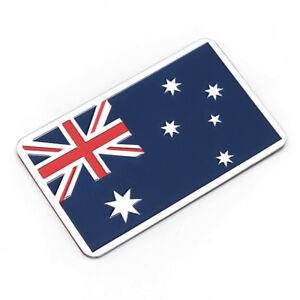 Aufkleber-Auf-Kleber-Australien-australia-Flagge-Metall-selbstklebend-3D-AUS