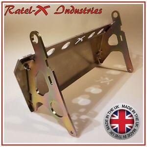 Land-Rover-Defender-Protector-De-Direccion-Aluminio-Placa-Sumidero-Guardia-Ratel-Bash-x-RHD
