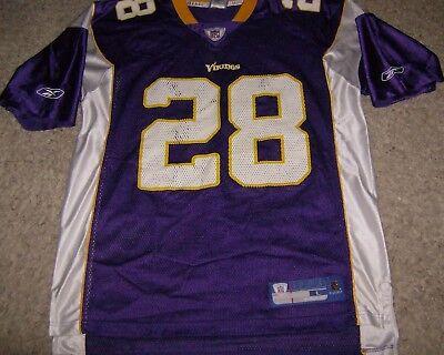 Men's Reebok on Field Minnesota Vikings Adrian Peterson Purple ...