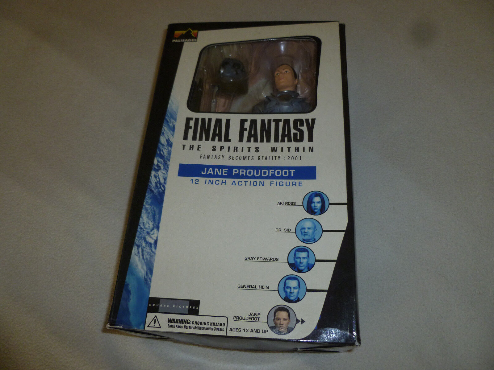 NEW IN BOX FINAL FANTASY THE SPIRITS WITHIN JANE PROUDFOOT 12