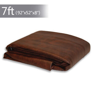 7-ft-Foot-Billiard-Heavy-Duty-Fitted-Leatherette-Pool-Table-Cover-Waterproof