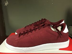 innovative design 2a0a2 862b9 Image is loading NIKE-COURT-TENNIS-CLASSIC-CS-Team-Red-White-