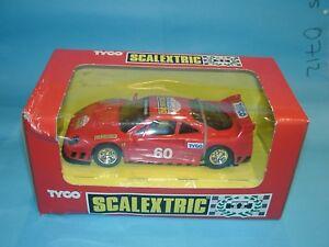 SCALEXTRIC-TYCO-8345C-09-FERRARI-F40-SCALEXTRIC-CLUB-slotcar-1-32-scale-vzds