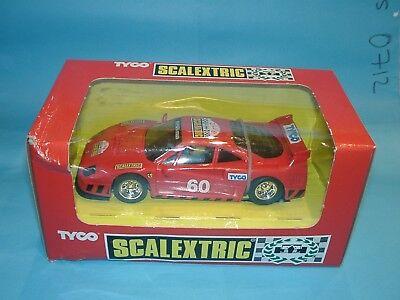 Ambizioso Vzds) Scalextric Tyco 8345c.09 Ferrari F40 Scalextric Club - Slotcar 1:32 Scale Sconto Complessivo Della Vendita 50-70%