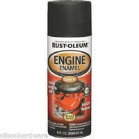 Rust-oleum High Temp Engine Spray Paint Flat Black 6pk