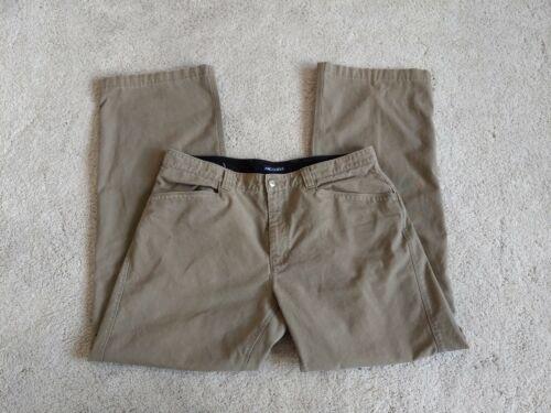 Men's Arc'teryx Khaki Pant Sz 36x32 Green/Brown