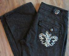 Laguna Beach Black Premium Denim Jeans Mens 38 X 34 Straight Leg  Made in USA