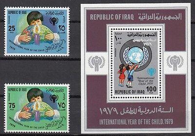 1979 Jahr Des Kindes 1008-09 Ausgezeichnete In Block 31 **, 22973 WunderschöNen Irak QualitäT