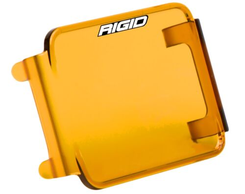 RIGID INDUSTRIES D-SERIES DUALLY D2 PROTECTIVE POLYCARBONATE LIGHT COVER AMBER