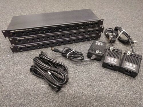 Lot of 3 Network Devices Gemini Multisession Star for IBM AS400 G224545