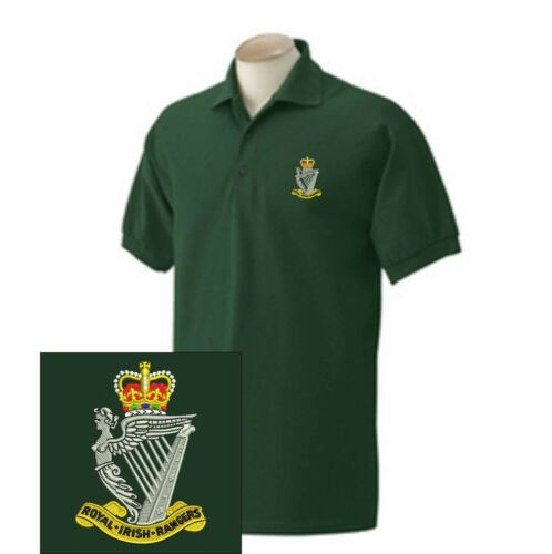Royal irish rangers brodé polo shirts