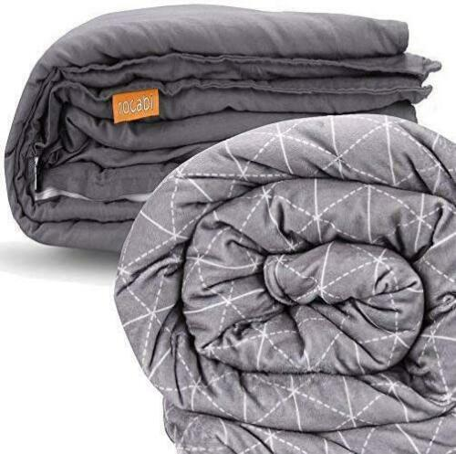 "Rocabi Weighted Blanket King Size /& Queen Bed10-30 Lbs 60/""x 80/"" 80""X 86"""