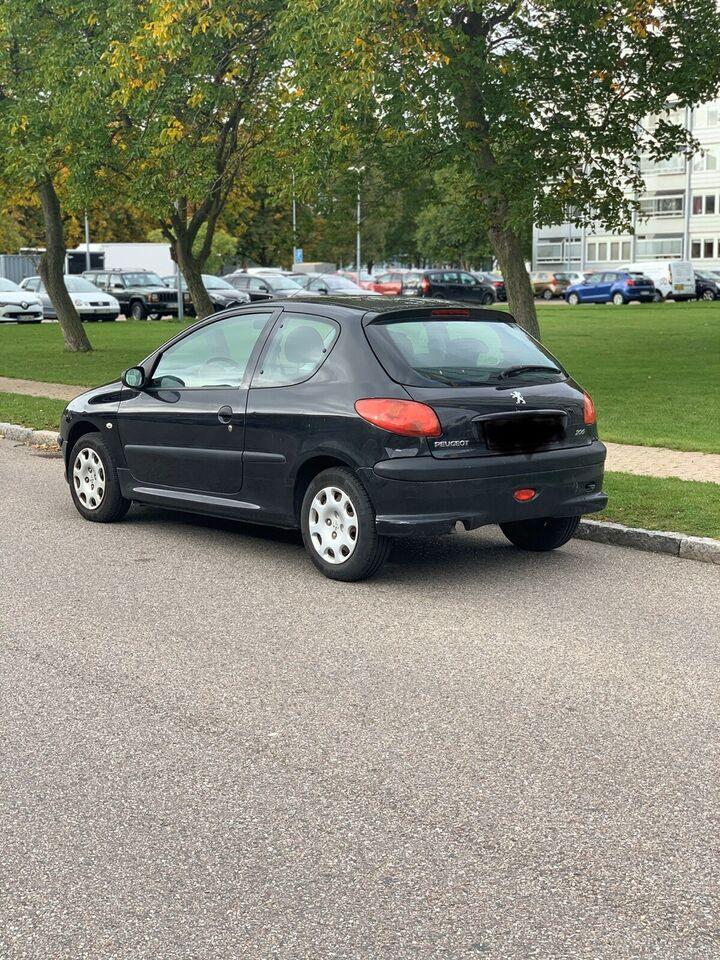 Peugeot 206, 1,4 S-line SW, Benzin