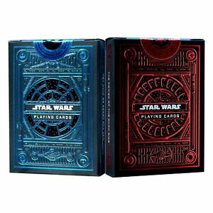 Star-Wars-Playing-Cards-Light-amp-Dark-Side-Theory-11-New-Set-2-Decks