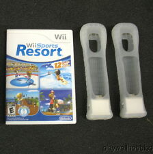 WII SPORTS RESORT Nintendo Wii Game With MotionPlus Bundle