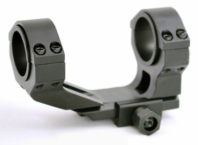 Flat Top Offset 1 Piece Scope Mount 1913 Picatinny Rails 30mm 1inch