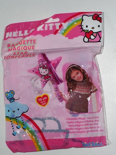 HELLO KITTY INFLATABLE MAGIC WAND STAR 70cm