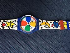 90's VINTAGE SWATCH WATCH Space People W or M
