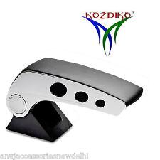 Kozdiko Black Chrome Round Armrest For Ford Figo New (2015-Present)