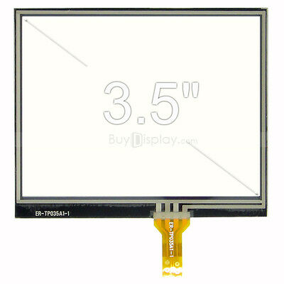 "Factory Outlet 3.5"" inch Resistive Touch Panel Screen with Soldering Type FPC"