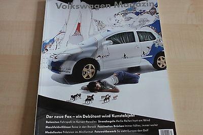 Vw Magazin 02/2005 Analytisch 152303 Vw Fox Neuvorstellung
