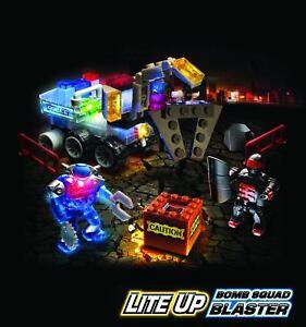 Lite Brix - BOMB SQUAD BLASTER - Light Building System - NEW