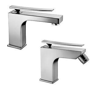 Set rubinetti miscelatori bagno design moderno per lavabo for Rubinetti bagno design