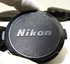 Nikon Lens Front Cap 52mm all black Genuine - snap on 28mm f2.8 50mm f1.8 Nikkor