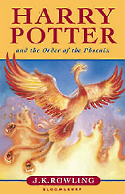 First Edition Harry Potter and the Order Of The Phoenix Hardback (No Dustcover)