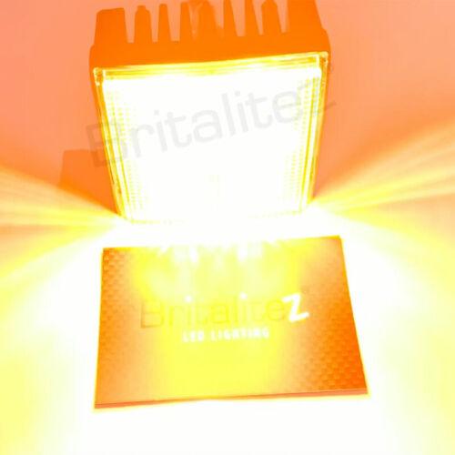 2 x SQ4 LED Directional Warning Light Beacon For Recovery Lightbar Strobe 12//24V