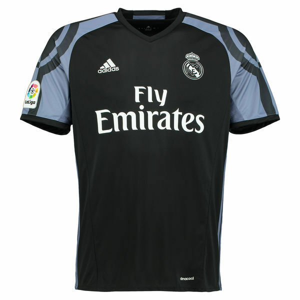 adidas Real Jersey Madrid Third Jersey Real 2016/2017_Black/Purple size S_New With Tags_ 96de75