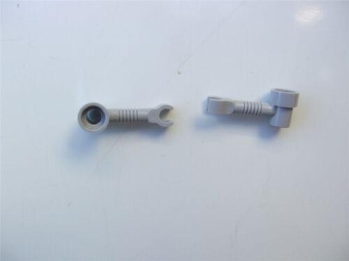 pièces et morceaux 2 x Lego Gris Support 16 mm 4211644
